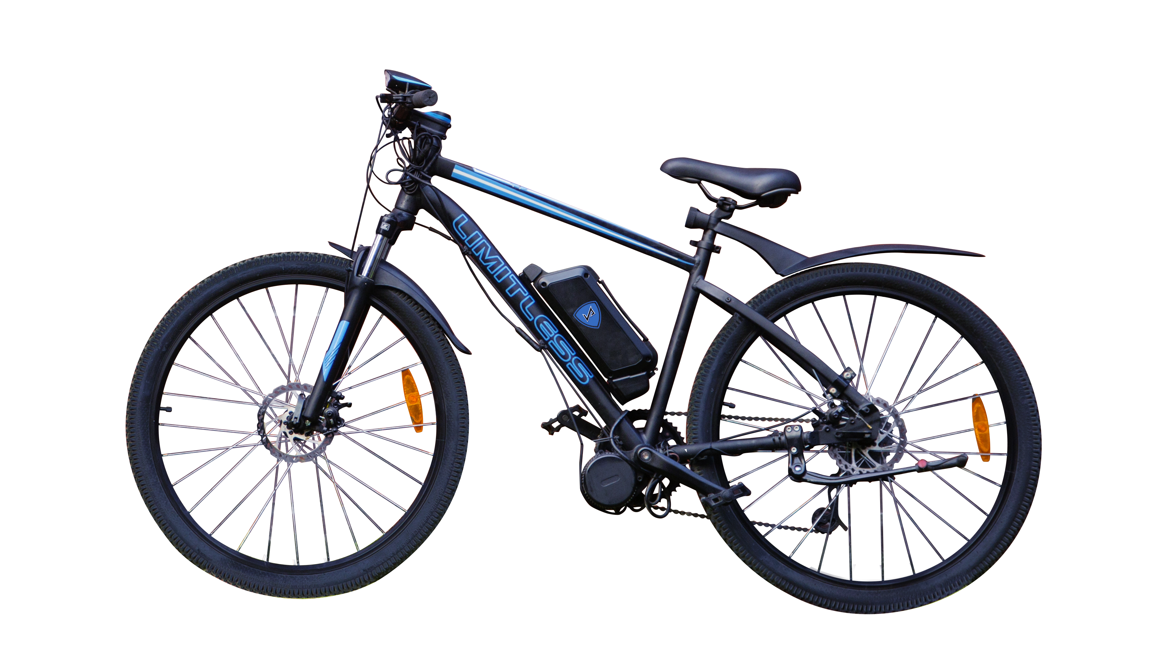 Limitless Gas Electric Bike Images